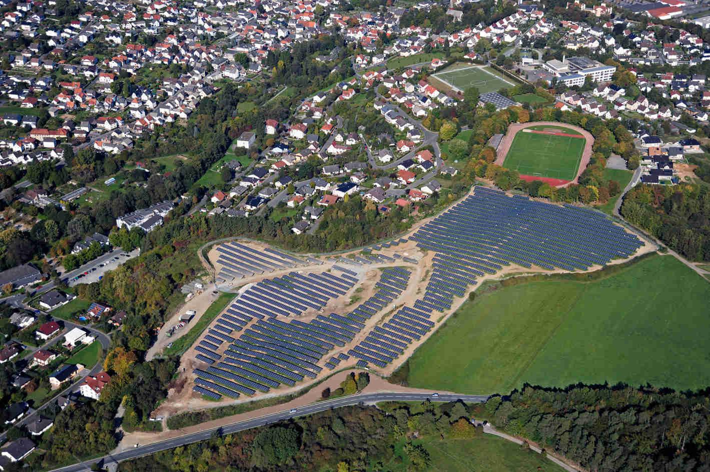Luftbild 5 der Sybac Solar